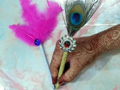 DIY NIKHA PEN.WEDDING PEN.HOW TO MAKE EASY NIKHA PEN.ARTWITHALIYA