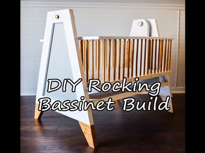 DIY Rocking Bassinet: Mid-century Modern.Danish Style