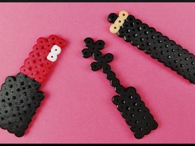 DIY Time Lapse | Perler Beads Make Up Dollhouse Accessories | Bügelperlen Make-up Puppenhaus