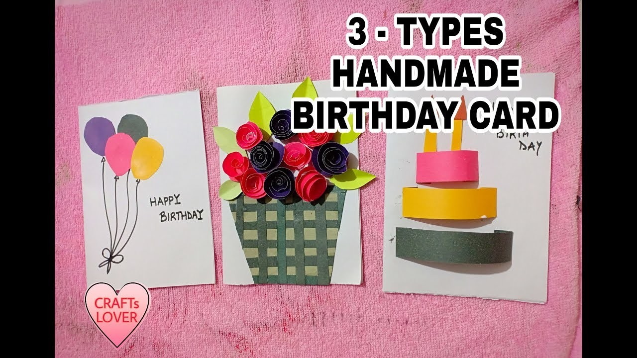 Happy Birthday Card For Boyfriend Girlfriend Brother And Sister Diy