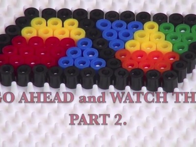 "How To Create Things Using ""HAMA BEADS"" (DIY-TUTORIAL) PART 1"
