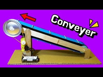 ✔ How to make a Conveyer Belt Model - Amazing and Easy DIY