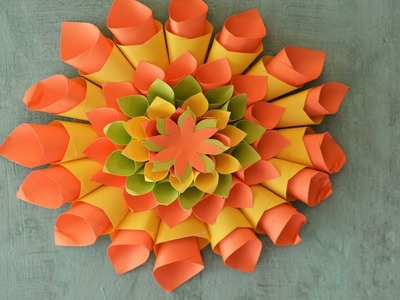 How How To Make A Lotus Flower With Colour Paper Art Gallery