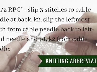 Knitting instructions 2.1.2 RPC | Pattern Duchess
