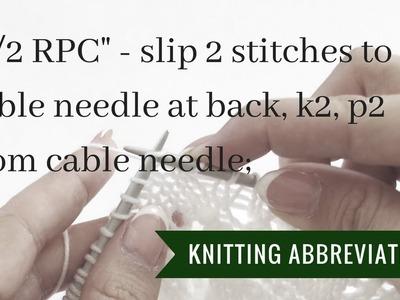 Knitting instructions 2.2 RPC | Pattern Duchess