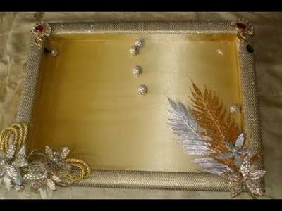 Wedding tray easy making DIY