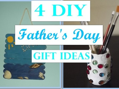 4 DIY Father's Day Gift Ideas????????4 Ιδέες για τη γιορτή του πατέρα