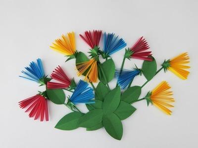 Decoration flowers DIY papercraft Dekoration Blumen