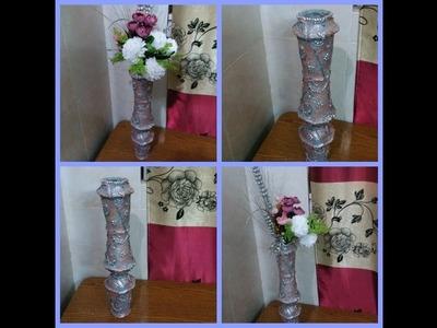 Easy Disposable Plastic Glass Making Flower Vase Diy Creative