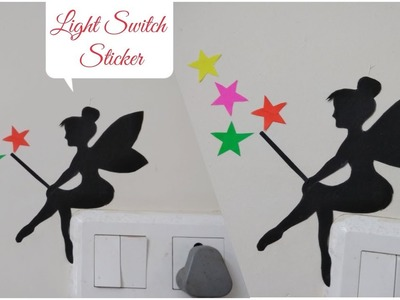 DIY Angel Light Switch Sticker.Wall Sticker.Room Decoration