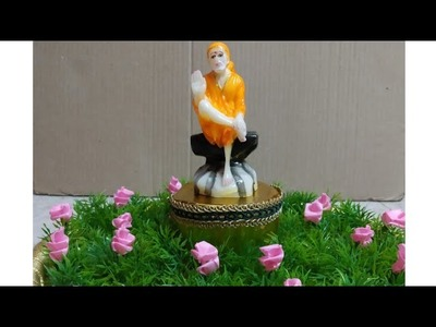 DIY Creative Sai baba Decorations