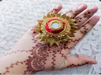 DIY | DIY Beautiful Gotta Patti RIng | How To Make Gotta Patti Ring At Home  | DIY Jewellery