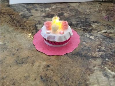 DIY Dollar Tree Candle Cake
