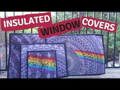DIY Insulated Window Covers (EASY)