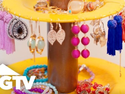 DIY Jewelry Holder Made From Plates - Easy Does It - HGTV