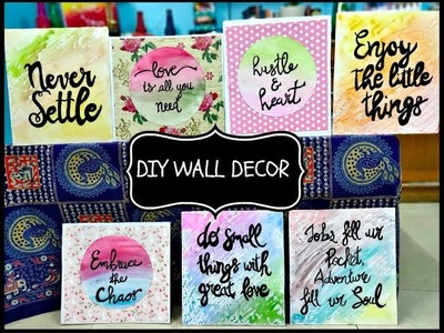 DIY Pinterest inspired Posters and wall decor