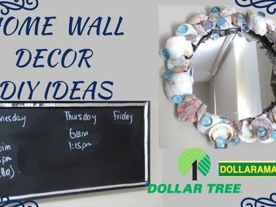 DIY SEASHELL WALL DECOR MIRROR, DIY BLING CHALKBOARD