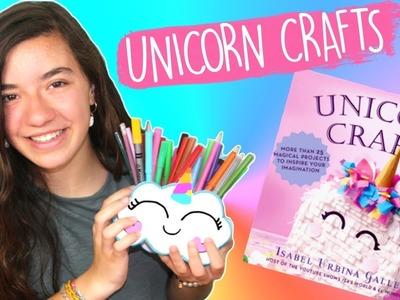 Easy DIY Unicorn Pencil Holder Organizer. Craft Tutorial