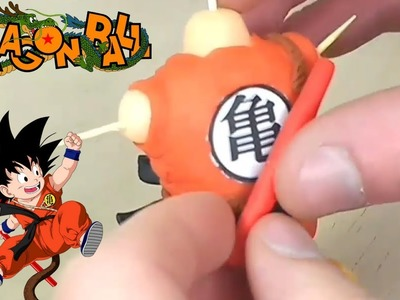 How to make Kid Goku (DRAGON BALL) - Polymer Clay tutorial - Step by Step