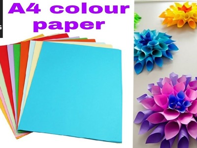 Sinar Premium A4 Color Paper for Art & Craft - 100 Sheets | 10 colour | unboxing