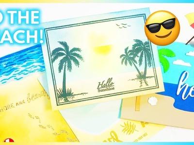 4 Summer Beach Cards to Make   Handmade Cards