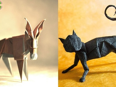 Amazing Animals Incredible Origami Animals  ▶Life Of Animals