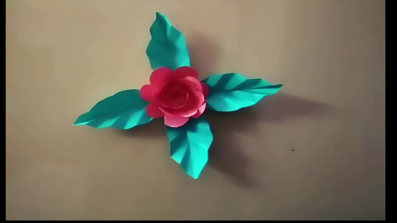 Decoration Flowerhow To Make Easy Decoration Flower Easy Origami