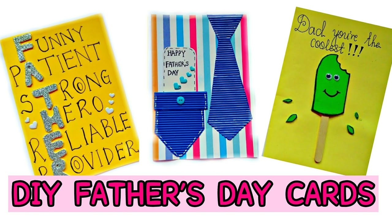 DIY  3 Fatheru0027s Day Cards | DIY Fathers Day gifts | Handmade cards for Dad.  sc 1 st  MyCrafts.com & DIY : 3 Fathers Day Cards DIY Fathers Day gifts Handmade cards for ...