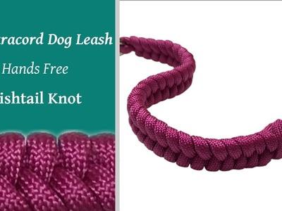 DIY Dog Leash - Hands Free Fishtail Knot