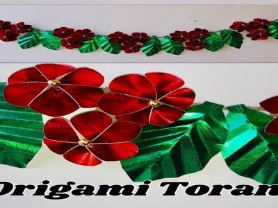 Flower how to make an easy origami flower how to make an easy door hanging tutorialssigner toran makingorigami flowers mightylinksfo