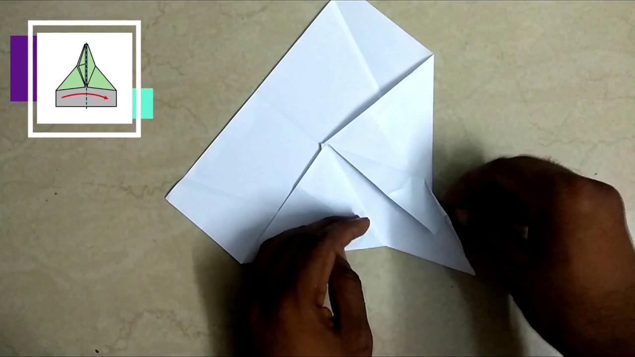 easy origami paper jet how to make fighter airplane model