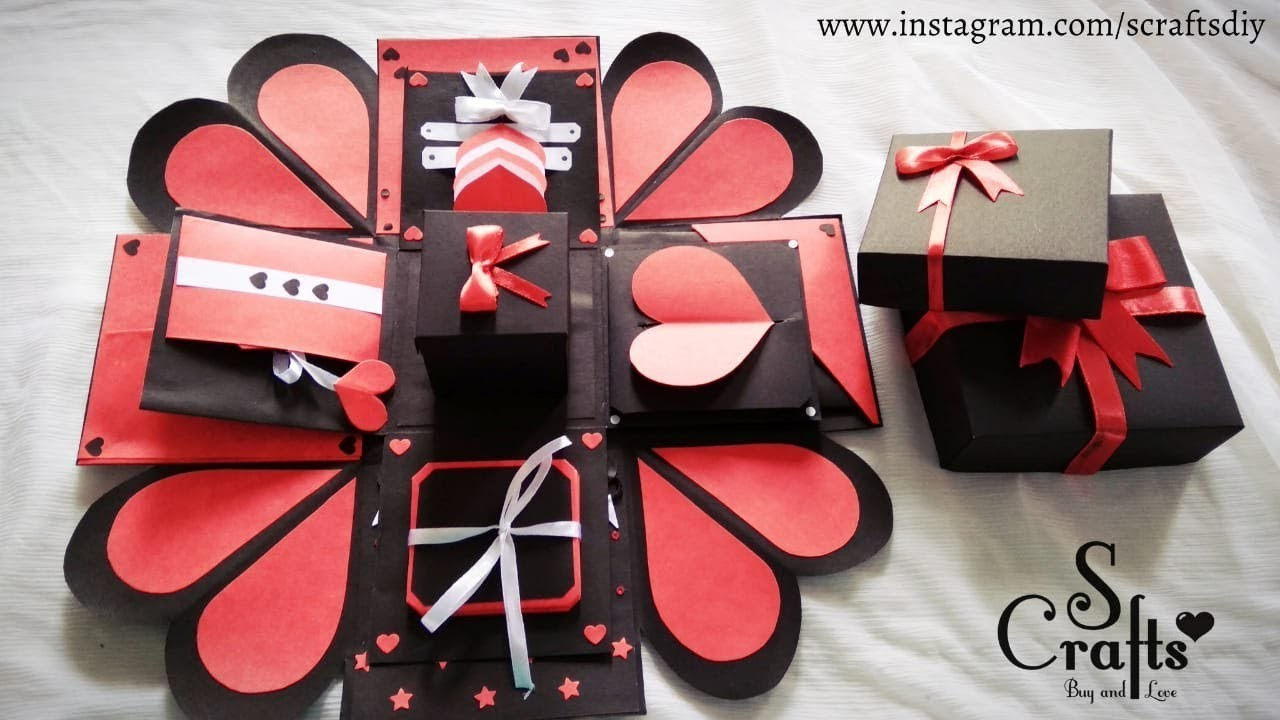 Explosion Box Handmade Gift Ideas Simple And Special S
