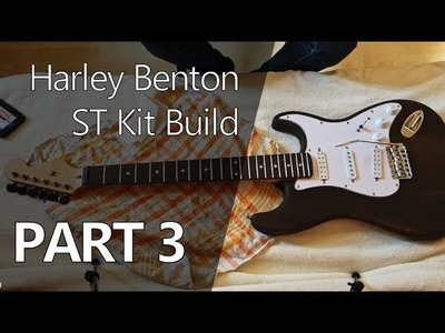 Improving Cheap Tuners, Soldering and Assembly - DIY Harley Benton Kit Build Part 3