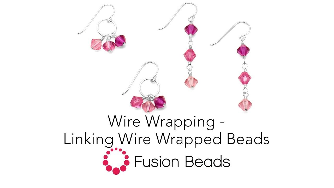 Learn to Link Wire Wrapped Beads with Fusion Beads