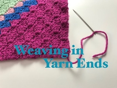 Ophelia Talks about Sewing in Yarn Ends