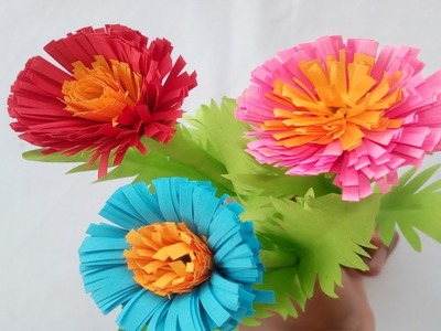 Bird Origami Paper How To Make Marigold Flowers With Paper