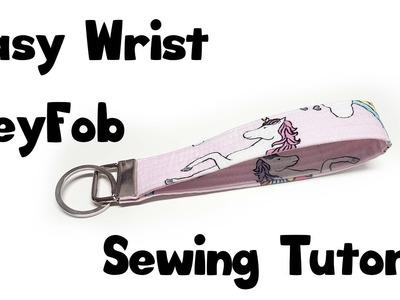 Wristlet Key Fob Sewing tutorial