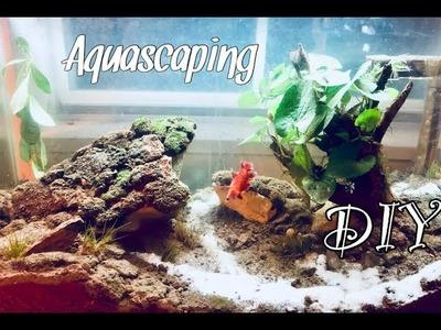 DIY Fish Tank Decorations | Aquascaping