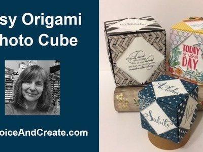Easy Origami Photo Cube Tutorial