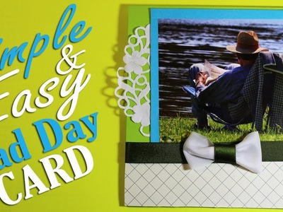 Father's Day Card - DIY Fathers Gift Card - Simple and Easy Idea 54