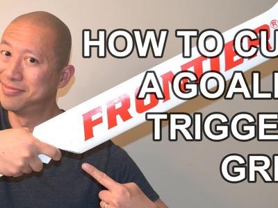 How to Cut a Goalie Trigger Grip - DIY VOG MOD