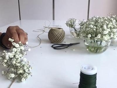 How to make a DIY Flower Garland