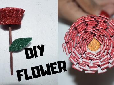 How To Make Beautiful DIY Foam Sheet Flower I DIY Foam Sheet Flower