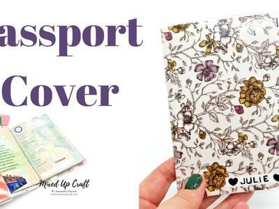 Passport Cover   DIY   Original Design