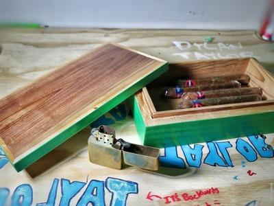 Simple Elegant Cigar Box DIY
