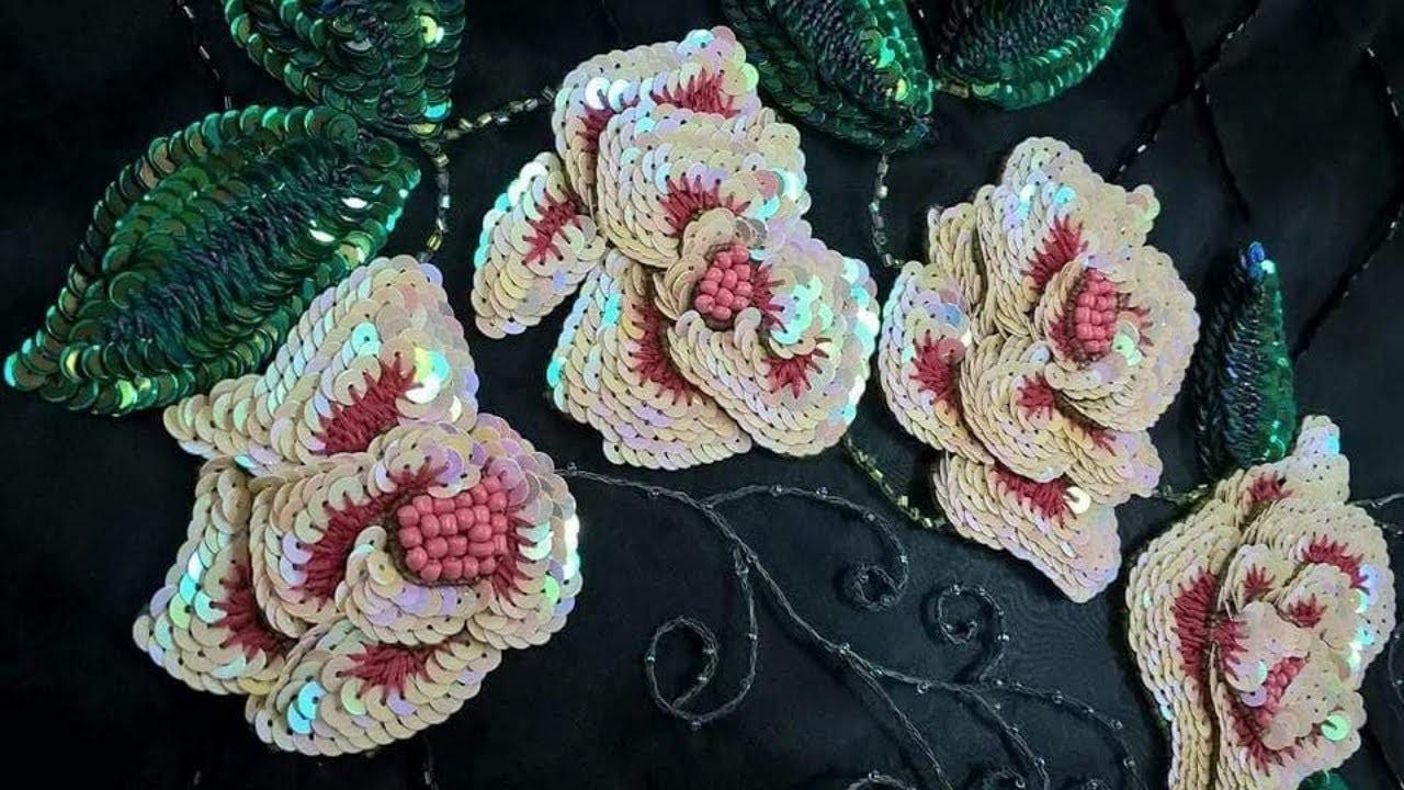 Aari Hand Embroidery Designs In Mumbai Latest Unique Gowns Designs