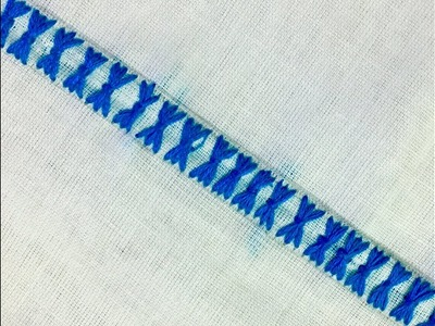 Make Hand Embroidery Border Design By Hand Embroideryeasy Border