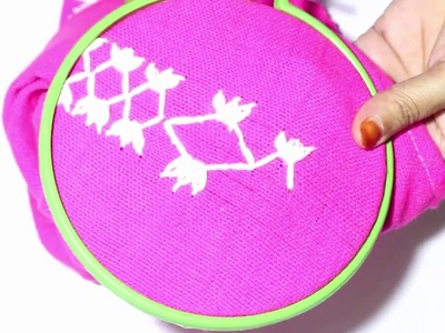 Embroidery: Easy Hand embroidery Tutorial - 3