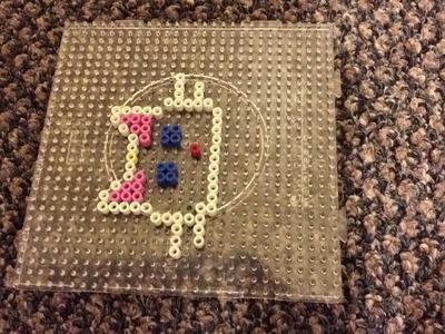 Hama beads cat