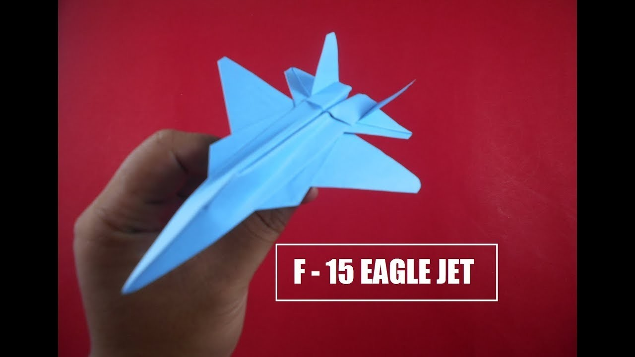 How to make a good and easy paper plane